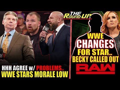 WWE BACKSTAGE MORALE LOW! Triple H UNHAPPY With Problems, Becky Lynch Called Out - The Round Up