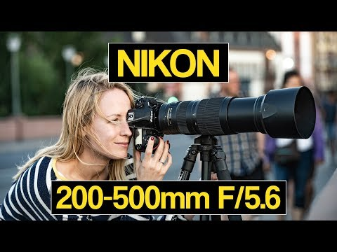 Nikkor 200-500mm F/5.6 VR unterwegs mit der Nikon D850 im Frankfurter Zoo (deutsch)