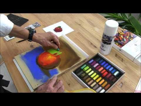 How To Begin Painting With Soft Pastels?