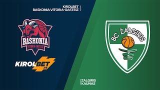 KIROLBET Baskonia Vitoria-Gasteiz - Zalgiris Kaunas Highlights | EuroLeague, RS Round 25