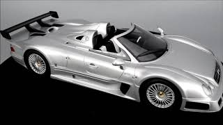 GT Spirit Mercedes Benz CLK GTR Roadster