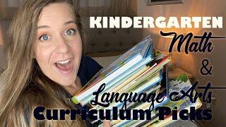 Homeschool Kindergarten Reading & Math Curriculum 2020 Resources