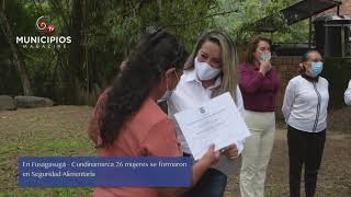 TV MUNICIPIOS – MUJERES DE FUSAGASUGÁ – CUND. SE CAPACITAN PARA LA TRANSFORMACIÓN DE ALIMENTOS Y COCINA