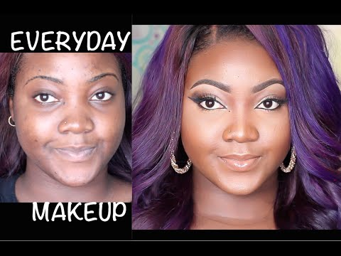 MY GO TO EVERYDAY MAKEUP TUTORIAL