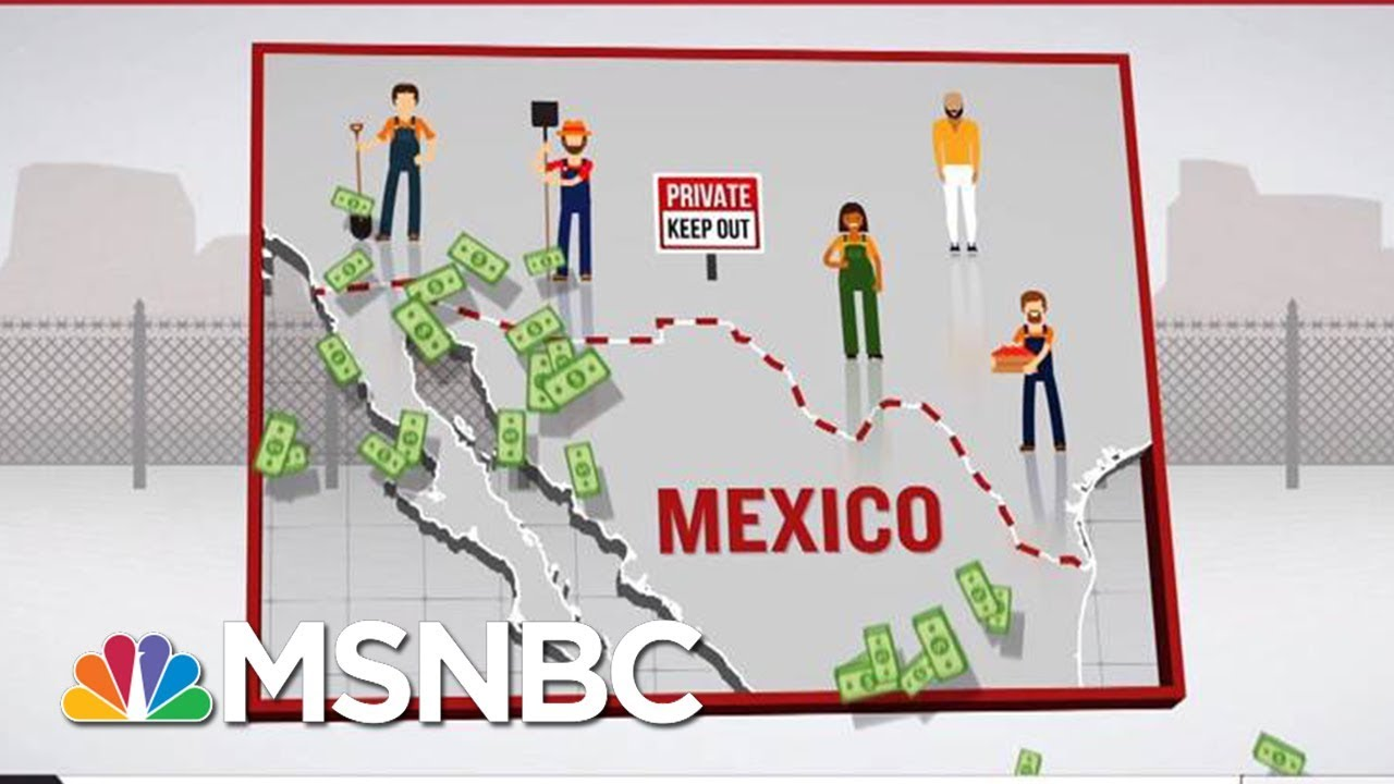 What Is The Real Cost Of President Donald Trump's Wall? | Velshi & Rhule | MSNBC thumbnail