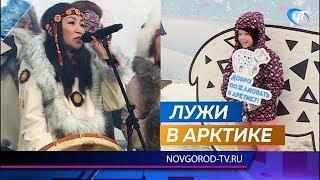 Фестиваль «Добро пожаловать в Арктику» прошел на Софийской площади под дождем