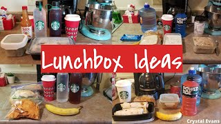 WHAT I PACK MY HUSBAND FOR LUNCH | LUNCHBOX IDEAS | Crystal Evans