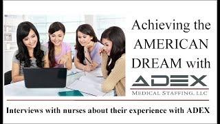 ADEX Nurse Interviews