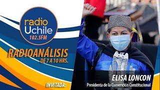 Elisa Loncon conversa con #Radioanálisis