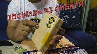 Посылка от канала КОРОЛЕВСКИЕ МУШКИ /  Подарок из СИБИРИ