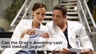 Greys Anatomy: How Well Does The Cast Know Medical Jargon?