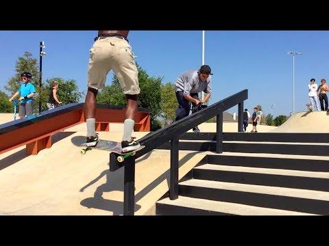 NEW SKATEPARK IN FRISCO TEXAS! Northeast Community Skatepark - Grand Opening Celebration!