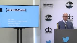 Top Male Artist Finalists - BBMA Nominations 2015
