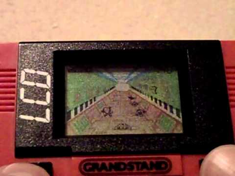 My Grandstand / Tiger LCD Games Collection & Gameplay Footage