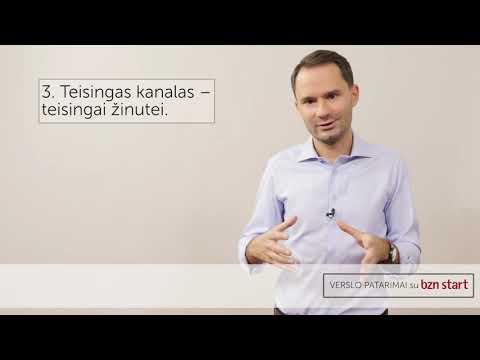 """Verslo patarimai su """"bzn start"""": kokiais kanalais efektyviai pasiekti savo klientus?"""