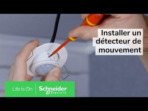 Comment installer un détecteur de mouvement pour un allumage automatique de l'éclairage ?