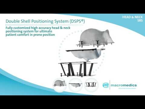Double Shell Positioning System MacroMedics DSPS Prone Position