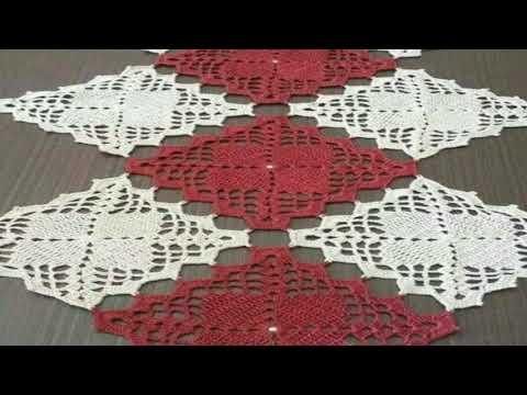 موديلات نابات الطاولات روعة/مفارش طاولة كروشي2020