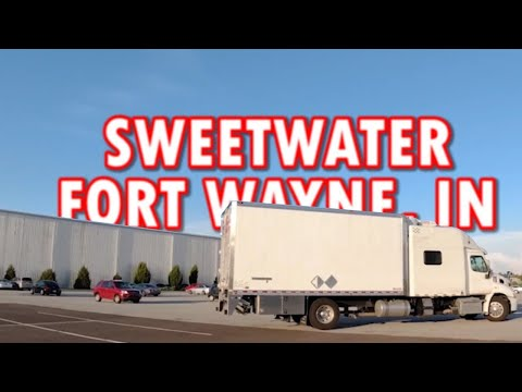 We Up Our Audio Game And Tour Sweetwater | Travel With US Expediting Trucking 10