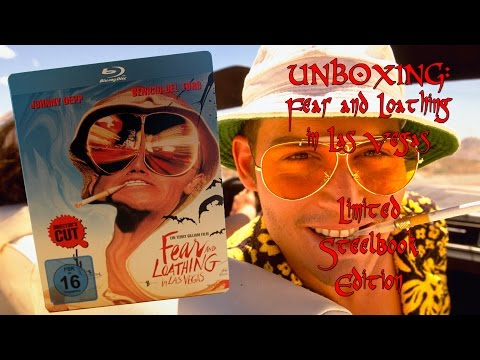 Unboxing - Fear and Loathing in Las Vegas - Limited Steelbook Edition