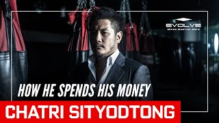 How Chatri Sityodtong (ชาตรี ศิษย์ยอดธง) Spends His Money (Speaking Thai)