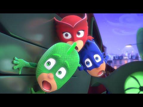 PJ Masks Full Episodes | On The Train! | 1 HOUR Episode Compilation | Cartoons for Kids #115