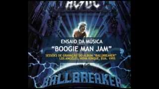 """AC/DC - Sessões do Gravação do """"Ballbreaker"""" - """"Boogie Man Jam"""" (1995)"""