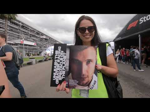 Image: Watch how Sirotkin spent his first home Grand Prix weekend in Russia!
