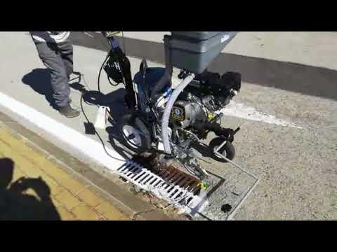 Máquina de pintar carreteras barata