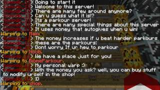 Minecraft Parkour Server