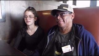 Kindness in Action: Restaurant worker serving up smiles