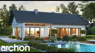 10 Modern Four Bedroom One Story House Plans