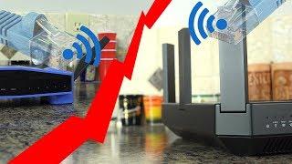 Using a WiFi Bridge to get Ethernet Speeds