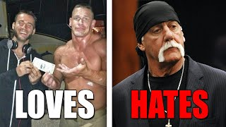 6 WWE Wrestlers CM Punk Is Friends With & 8 He HATES (Enemies) In Real Life!