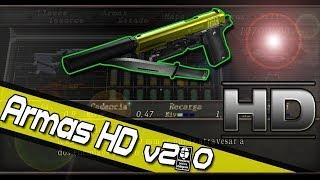 Resident Evil 4 MOD ARMAS HD v2.0 + SONIDOS REALES