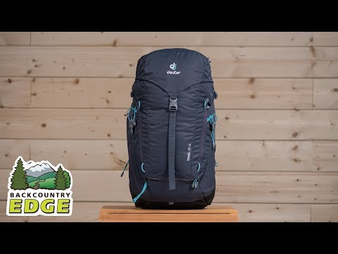 Видео о Рюкзак Deuter Trail 28 SL цвет 2326 leaf-navy 3440419 2326