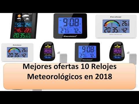Excelente 10 Relojes Meteorológicos en 2018