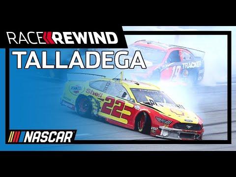NASCAR アラバマ500(タラデガ・スーパースピードウェイ)レースハイライト動画