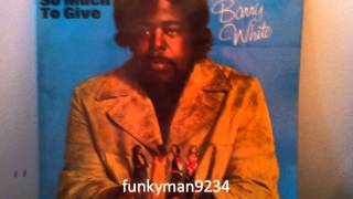 "Barry White"" Standing In The Shadows Of Love"""