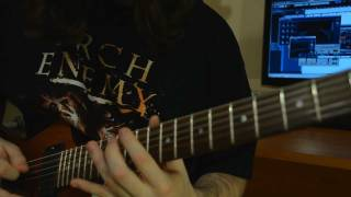 Arch enemy guitar cover - Angelclaw