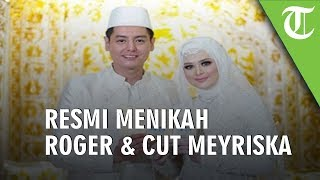 Foto-foto Pernikahan Roger Danuarta dan Cut Meyriska