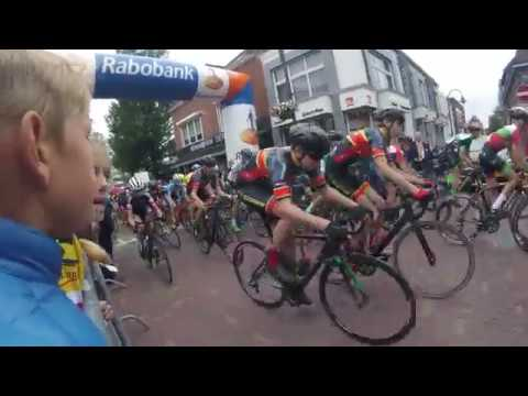 Jurre Weber uit Swifterbant presteert 't best bij NK wielrennen voor de jeugd