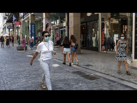 COVID-19: 156 νέα κρούσματα και πέντε θάνατοι στην Ελλάδα