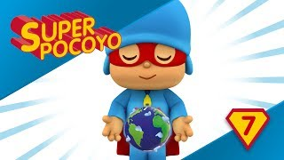 Super Pocoyo has become a Superhero for the environment