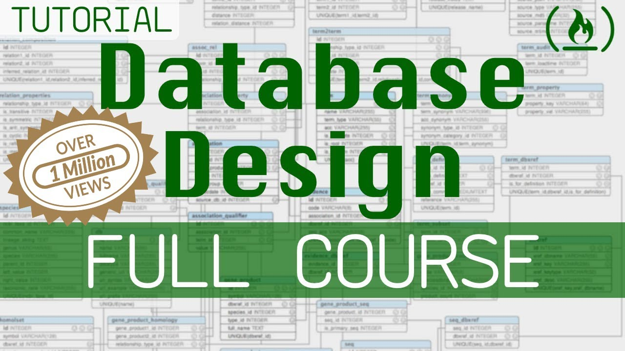 Complete Database Design Course for Beginners