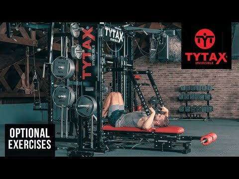 TYTAX® T1-X (Opt. PR) | Lying Cable Lever Upright Row