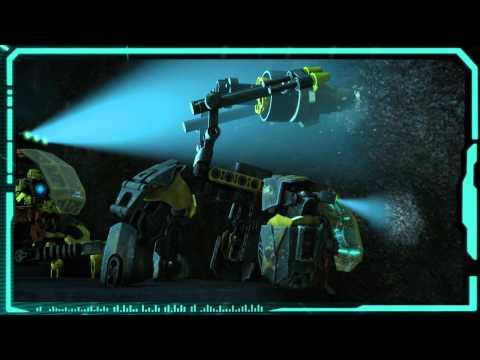 Vidéo LEGO Hero Factory 44025 : La foreuse de Bulk