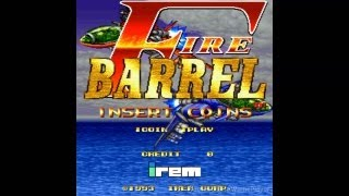 Fire Barrel Loop1 1993 Irem Mame Retro Arcade Games