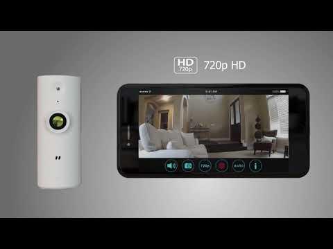 D-Link Mini HD Wi-Fi Camera (DCS-8000LH/2PK)