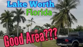 Where is lake worth fl on map